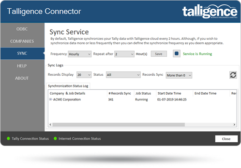 talligence-connector